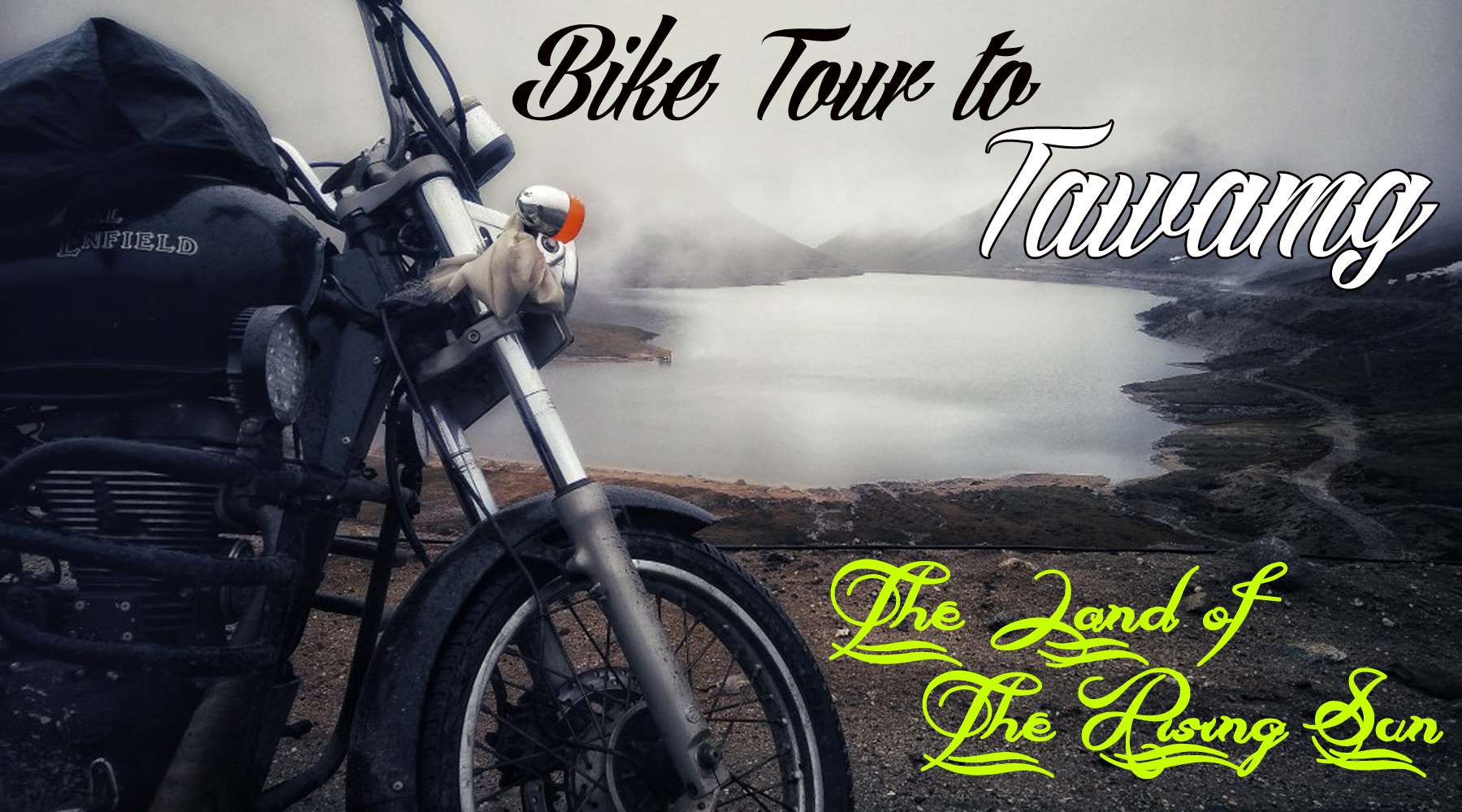 bike tour to tawang