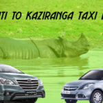 guwahati to kaziranga taxi booking